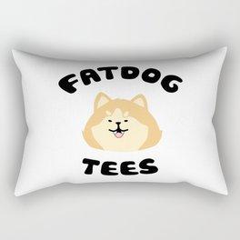 Fatdog Tees- Sassy Shiba! Rectangular Pillow