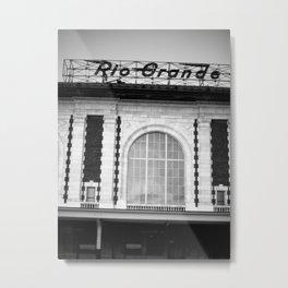 Rio Grande Train Station Metal Print