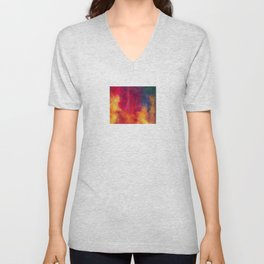 Colorful Thoughts 01 Unisex V-Neck