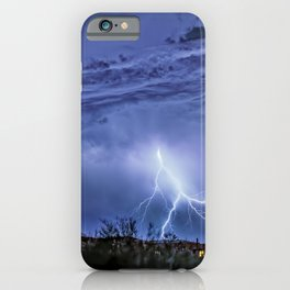 Just Passing Through iPhone Case