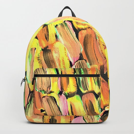 Golden Sweet Yellow Sugarcane Backpack
