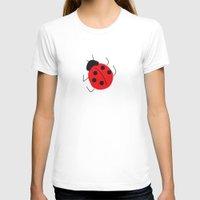ladybug T-shirts featuring Ladybug by LeMaxBleu