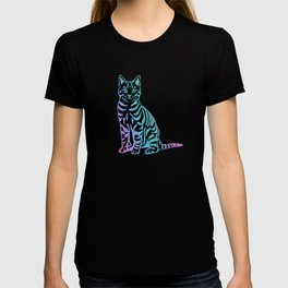 Rainbow Glitter Kitty T-shirt