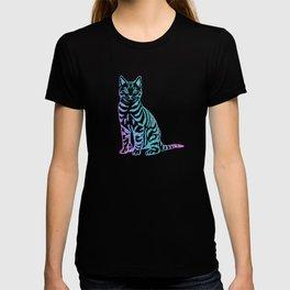 Rainbow Glitter Kitty T-shirt