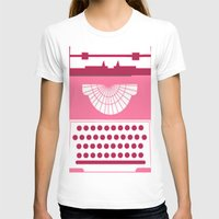 typewriter T-shirts featuring Typewriter by Debra Ulrich
