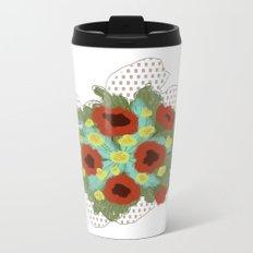Bouquet #4 Metal Travel Mug
