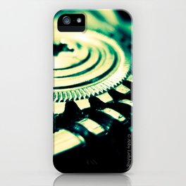 Tuning Peg iPhone Case