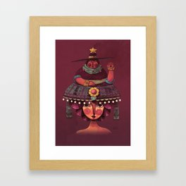 mamacita Framed Art Print