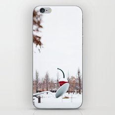 snow spoon & cherry iPhone & iPod Skin