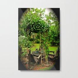 """""""Poet's Corner"""" by ICA PAVON Metal Print"""