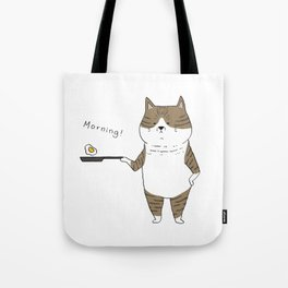 Morning Cat III Tote Bag