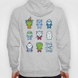 Halloween monsters Hoody