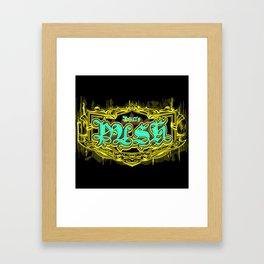 Philly Crest  Framed Art Print