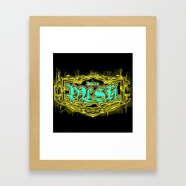 Philly Crest  Framed Art Print
