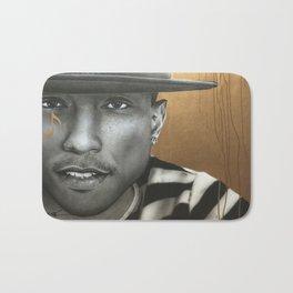 'Pharrell In Gold' Bath Mat