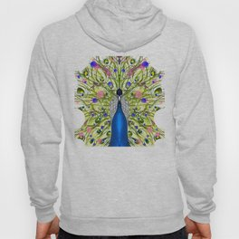 Peacock design Hoody