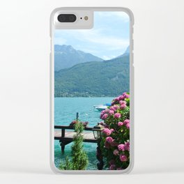Lakey dreams Clear iPhone Case
