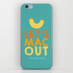 Let's Mac Out iPhone & iPod Skin