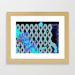 Noirish Framed Art Print