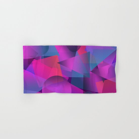 Abstract cube Hand & Bath Towel