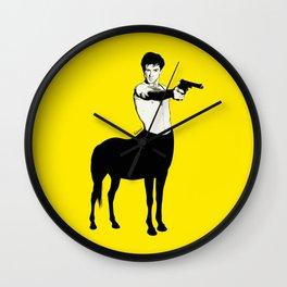 Taxi Rider Wall Clock