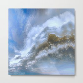 Mile High Plains Colorado Metal Print