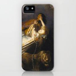 The Rape of Proserpine iPhone Case