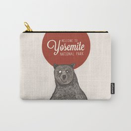 Bear from Yosemite Carry-All Pouch
