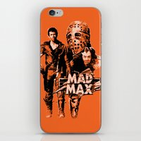 mad max iPhone & iPod Skins featuring Mad Max by leea1968