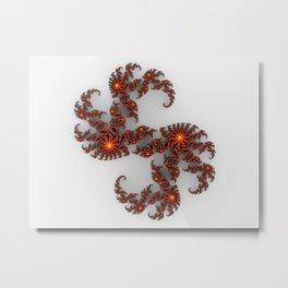 """"""" Fraktal """"  Metal Print"""