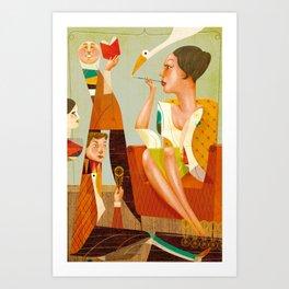 Natalia Correia Art Print