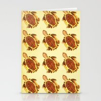 turtles Stationery Cards featuring Turtles by Ted R.