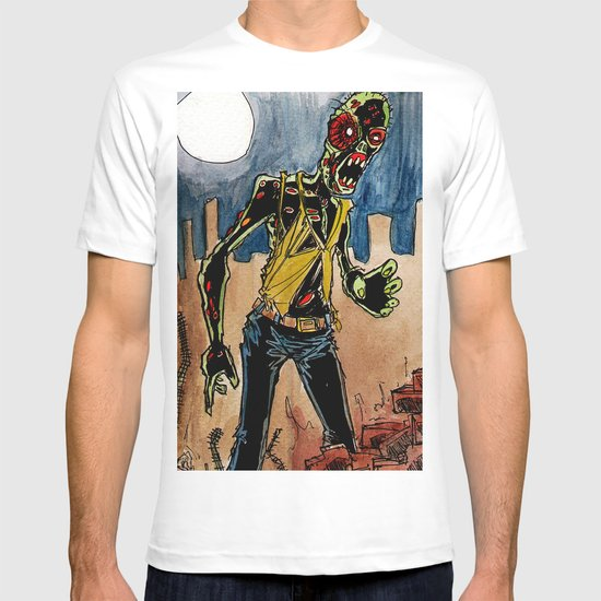 zombie in the ruins T-shirt