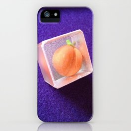 Freeze peach iPhone Case