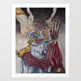 A Sacrifice for Knowledge Art Print