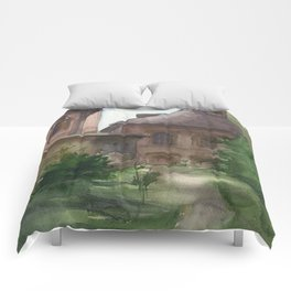 Moscow trails Comforters