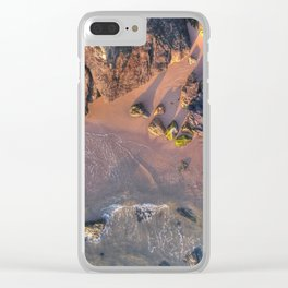 Tide and Time Clear iPhone Case