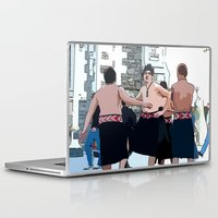maori Laptop & iPad Skins featuring Maori Boys Dance by Cindys