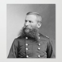 General George Crook - American Civil War Canvas Print