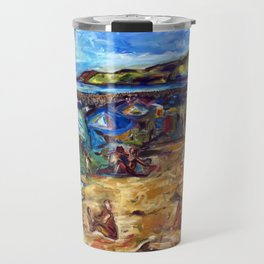 """Ogunquit Beach"" Travel Mug"