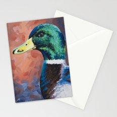 Mallard Drake Profile Stationery Cards