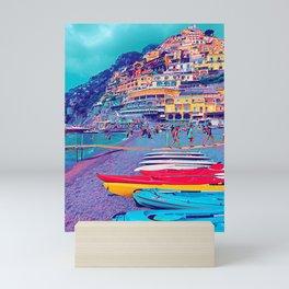Positano Italy Coast Mini Art Print
