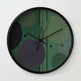 """The Girl and the Moon (Pattern 02)"" Wall Clock"