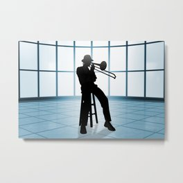 Cool Jazz 1 Metal Print