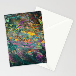 375 5 Abstract Fairy Tale Painting Stationery Cards