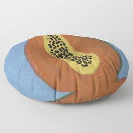 Papaya Poppin Floor Pillow