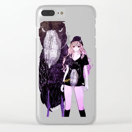The killers shoebill Clear iPhone Case