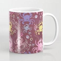 Crab pattern Mug