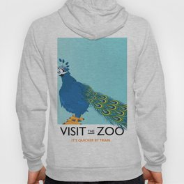 Visit the Zoo Peacock edition Hoody