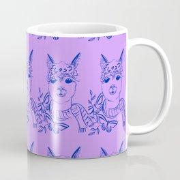Alpaca pattern Coffee Mug